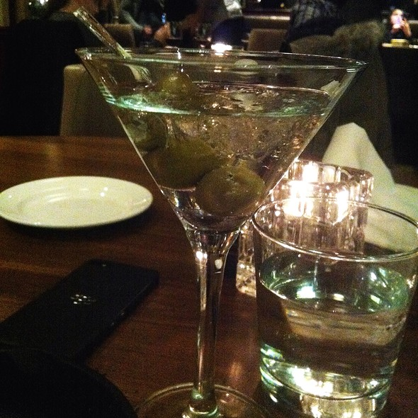 W Martini - Charcoal Steak House, Kitchener, ON
