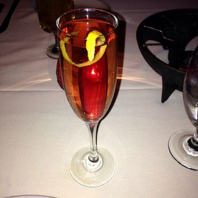 Champagne Cosmopolitan - Geja's Café, Chicago, IL