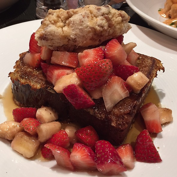 Banana Bread French Toast - Ça Va Lounge by Todd English, New York, NY