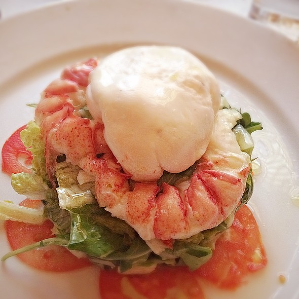 Lobster Salad With Burata - Bond 45, New York, NY