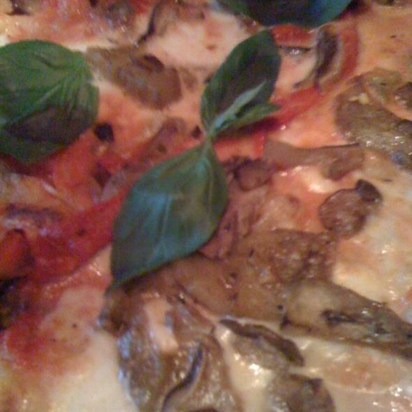 """Vegetable Flatbread """"Pizza"""" - Serafina, New York, NY"""