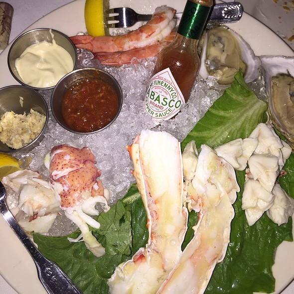 Morton's Prime Ocean Platter - Morton's The Steakhouse - Ft. Lauderdale, Fort Lauderdale, FL