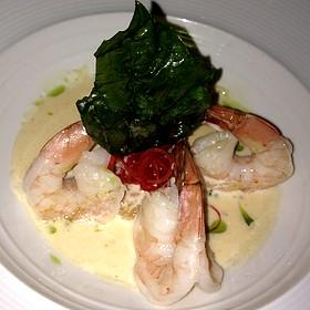 Grilled Shrimp - Perla at La Concha, A Renaissance Resort, San Juan, PR