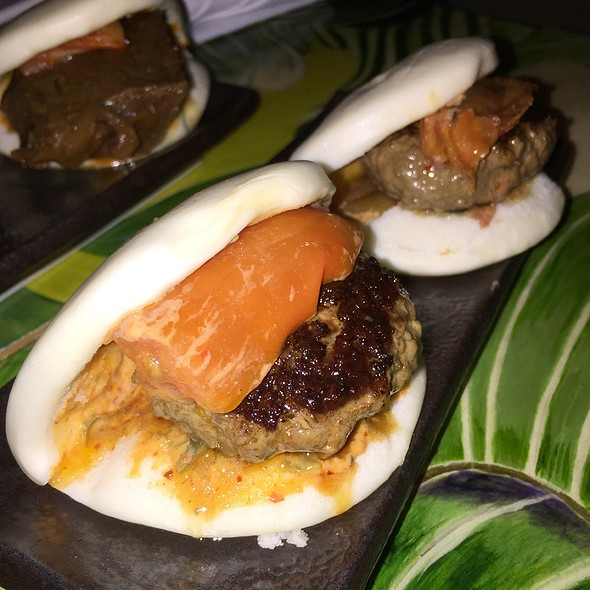 Kobe Beef Steamed Buns - Zutto Japanese American Pub, New York, NY