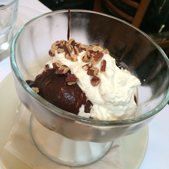 Ice Cream Sundae - Hayes Street Grill, San Francisco, CA