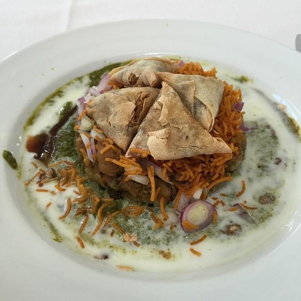 Samosa Chaaty - Cholanad Restaurant and Bar, Chapel Hill, NC