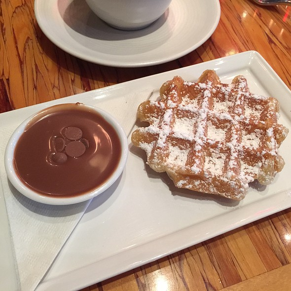 Waffle With Milk Chocolate Lavender - Chambar, Vancouver, BC