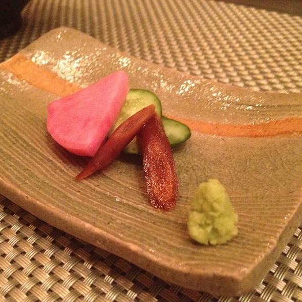 Pickeled Vegetables - 神戸牛懐石 511, 港区, 東京都