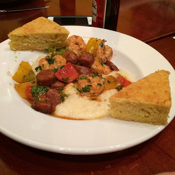 Shrimp and Grits - Lake Pointe Grill, Springfield, IL