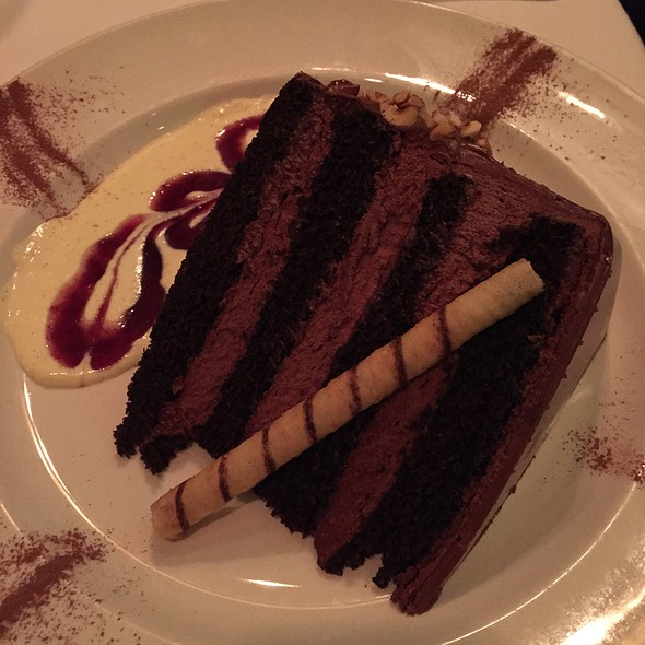 Chocolate Cake - The Capital Grille - Chicago- Rosemont, Rosemont, IL