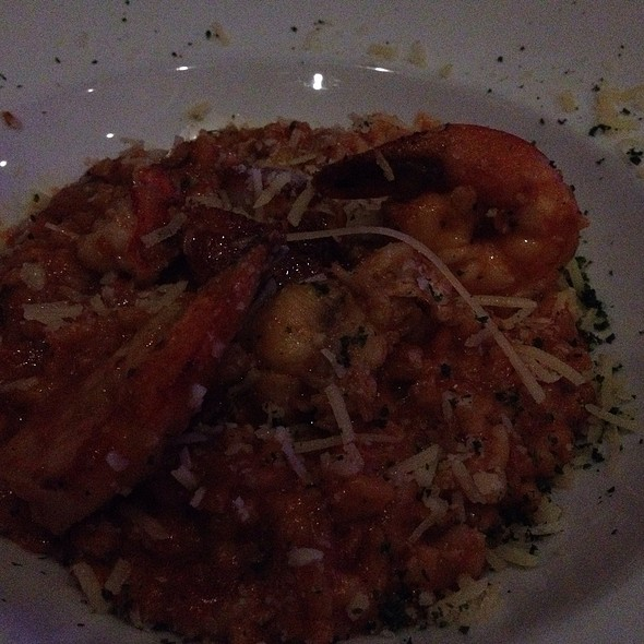 Pescatore With Sherry Risotto - Cuvee Wine & Bistro, Ocala, FL
