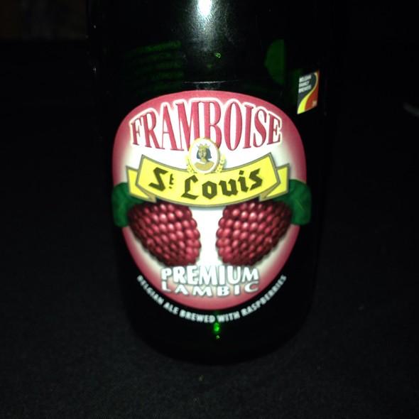 Framboise Lambic - Cuvee Wine & Bistro, Ocala, FL