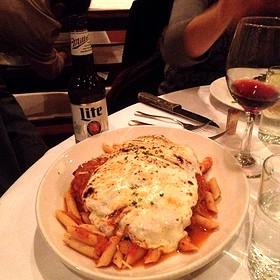Chicken Parmesan - Bobby Van's Steakhouse - DC, Washington, DC