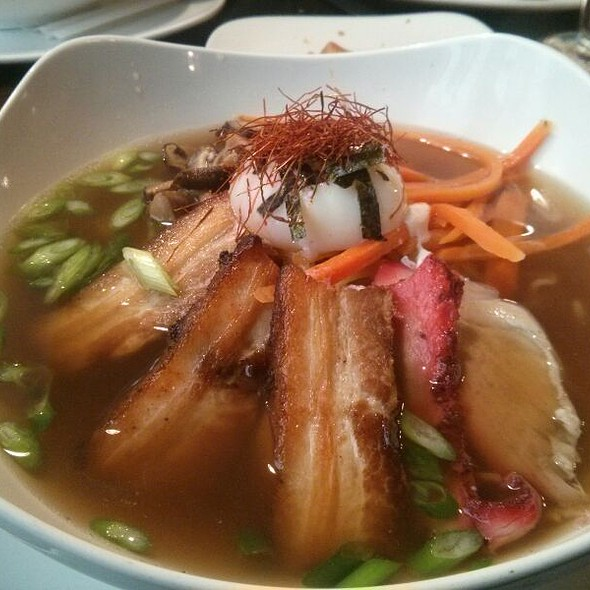 Pork Belly Ramen W/ Soft Poached Egg - SW Craft Bar, Saint Paul, MN