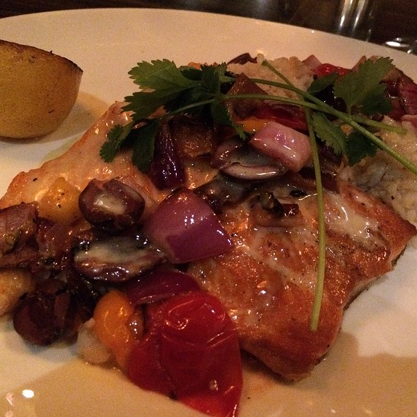 Arctic Char - Tii Gavo, a gathering place at Enchantment Resort, Sedona, AZ