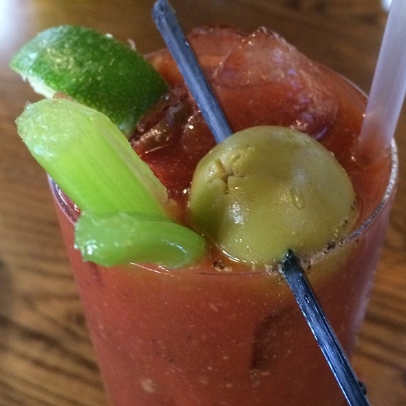 Bloody Mary - 501 on Main, Park City, UT