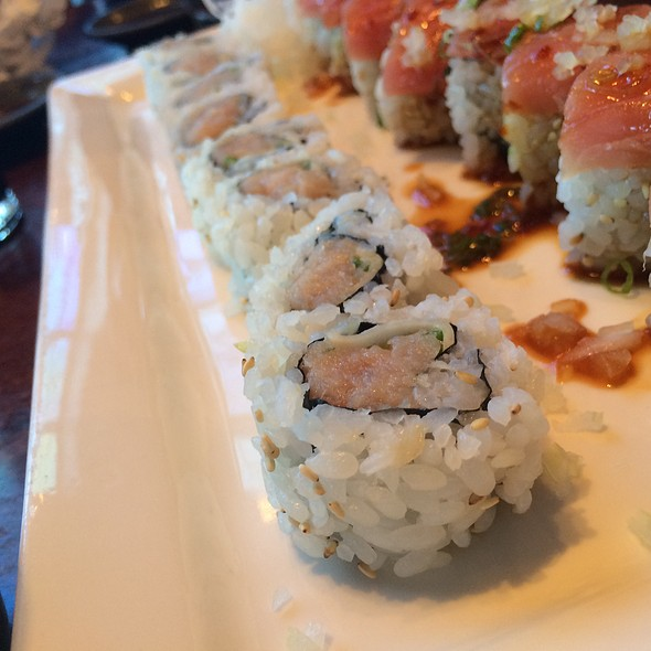 White Tuna Roll - Hapa Sushi Grill & Sake Bar - Cherry Creek, Denver, CO
