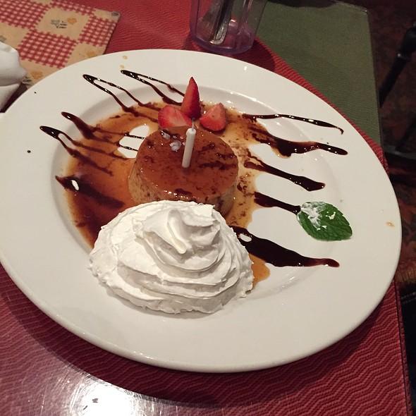 Flan - El Cholo Cafe, Pasadena, CA