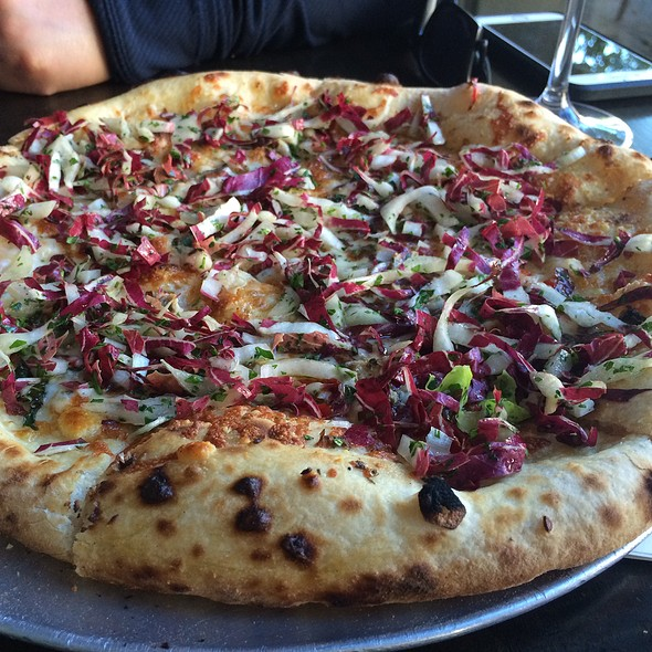 White Anchovy Pizza - Redd Wood, Yountville, CA