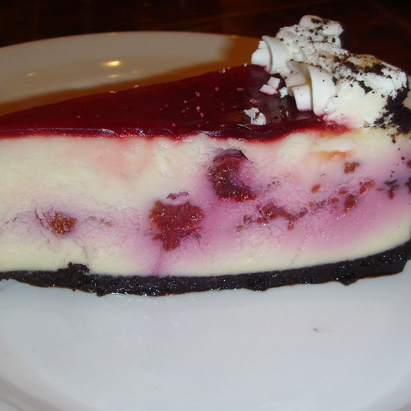Raspberry Cheesecake - Flatiron Kitchen and Taphouse, Davidson, NC