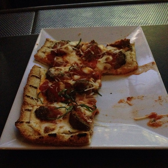 Meatball Flatbread  - Public House 49, Patchogue, NY