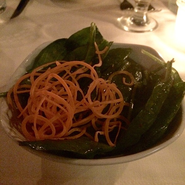 Spinach Salad - Blue Cat Steak & Wine Bar, Burlington, VT
