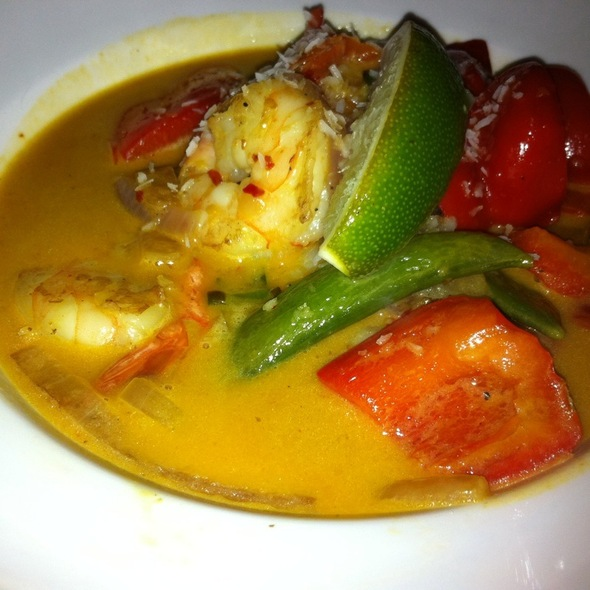 Shrimp Coconut Curry - Mango Shiva, Calgary, AB