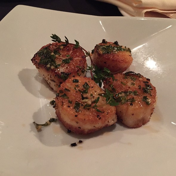 Herb Crusted Scallops - Nirvana Grille - Laguna Beach, Laguna Beach, CA