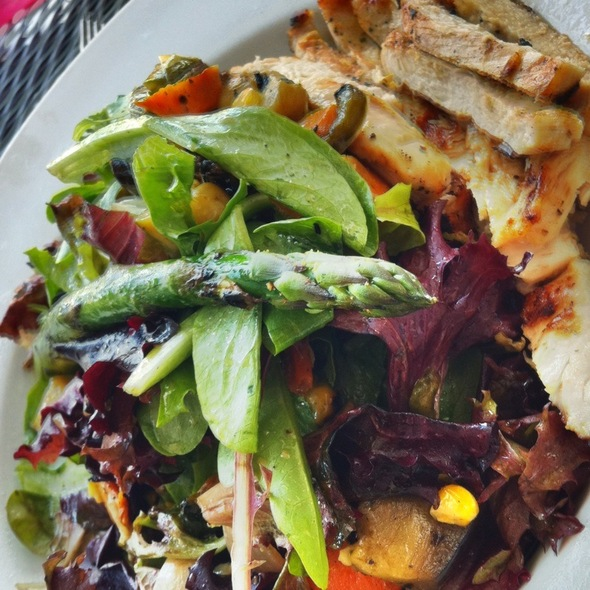 Grilled Vegetable Salad With Chicken - BeachFire Bar and Grill - San Clemente, San Clemente, CA