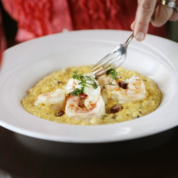 Shrimp and Grits - Cobalt Restaurant and Lounge - Vero Beach Hotel and Spa, Vero Beach, FL