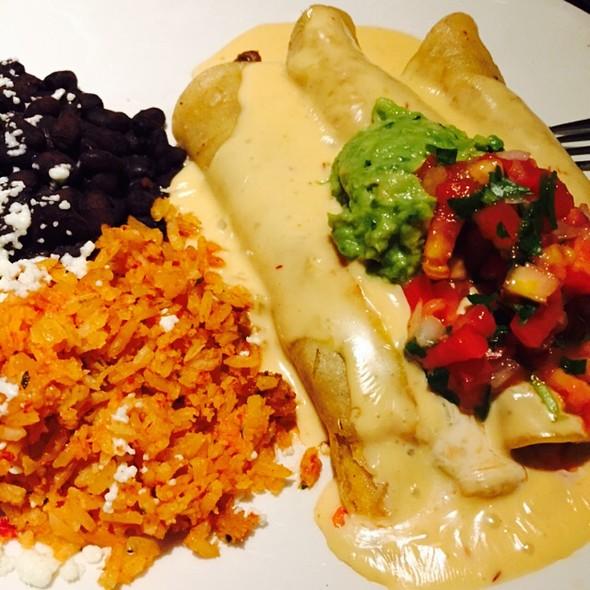 Shredded Beef & Queso Enchiladas - Vida Cantina, Charlotte, NC