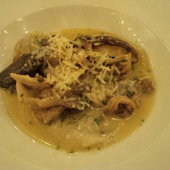 Mushroom Ravioli - Joe's Restaurant, Venice, CA