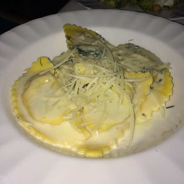 Veggie And Parmesan Agnolotti - Blanchard's, Meads Bay, Anguilla