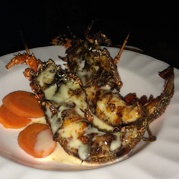 Grilled Crayfish - Blanchard's, Meads Bay, Anguilla