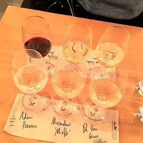 Wine Flight - Salt Tasting Room, Vancouver, BC