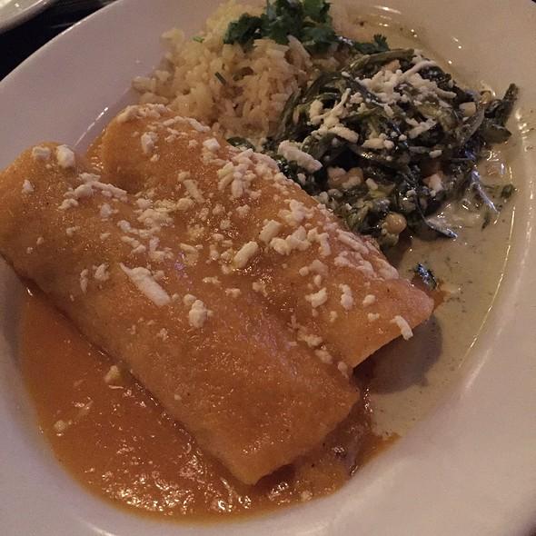 Chicken Enchiladas - Yxta Cocina Mexicana, Los Angeles, CA