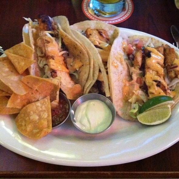 fish tacos - Players Sports Grill & Arcade, San Francisco, CA