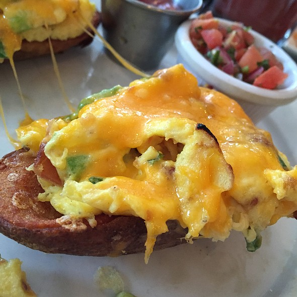 Eggs Over Potato Skins - Feast - Bucktown, Chicago, IL