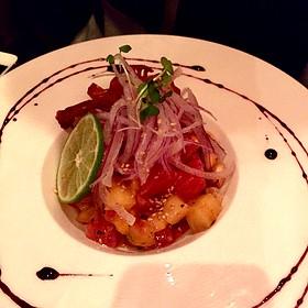 Pineapple Tuna Ceviche - Surfish Bistro, Brooklyn, NY