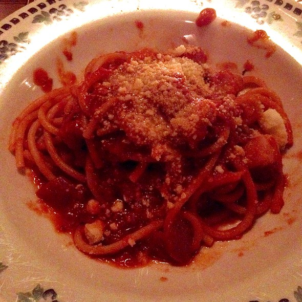 Buccatini Alla Matricana - Cacio e Pepe, New York, NY