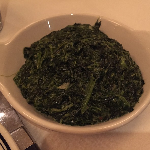 Creamed Spinach - The Grill on Hollywood, Hollywood, CA