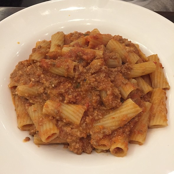 Rigatoni With Pork Ragu - Calandras Italian Village, Caldwell, NJ