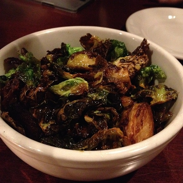 Burnt sprout leaves - Jackson's Restaurant, Commack, NY