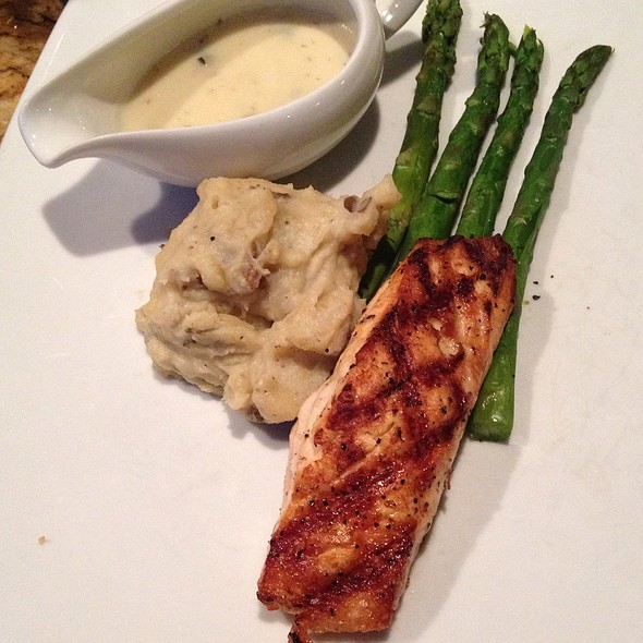 Grilled Atlantic Salmon - Cutler's, Athens, OH