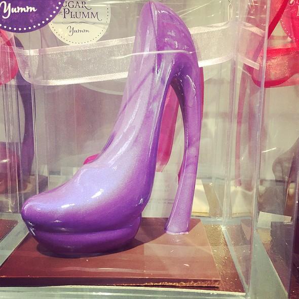 Chocolate Shoe - Sugar and Plumm, New York, NY