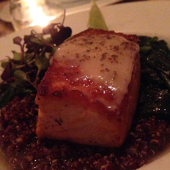 Seared Salmon - Cowell & Hubbard, Cleveland, OH