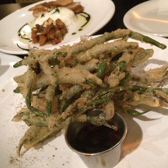 Tempura Green Beans - The Flying Fig, Cleveland, OH