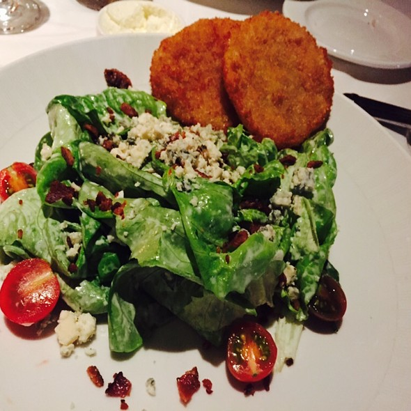 Bibb Lettuce Salad With Fried Green Tomatoes - High Cotton - Charleston, Charleston, SC