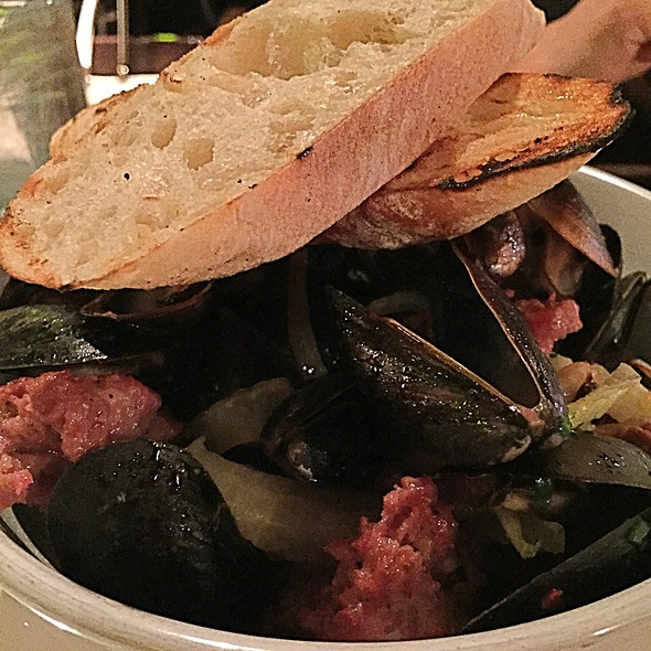 Steamed Mussels - Tannin Wine Bar and Kitchen, Kansas City, MO