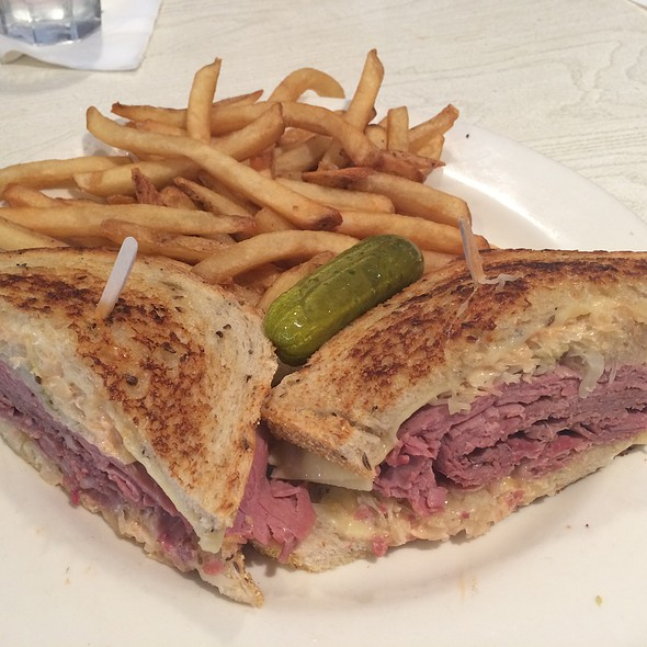 Corned Beef Reuben - Max's Opera Cafe, San Francisco, CA